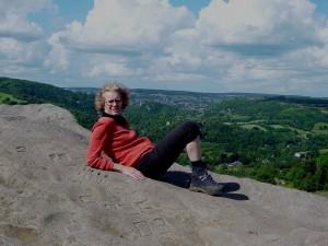 Sue on Black Rock