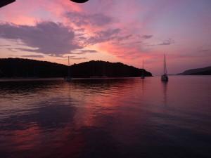 Sunset Mourtos