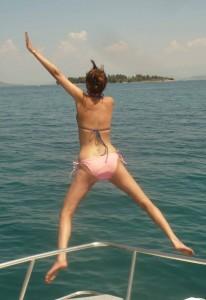 Jumping Krista