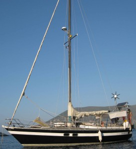 Zeehond - Dave and Viola's boat