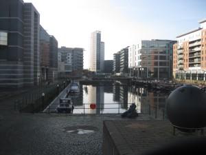 Leeds canal basin