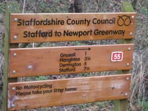 Stafford to Newport Greenway
