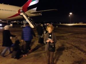 Leaving Birmingham 20:40 24th Jan